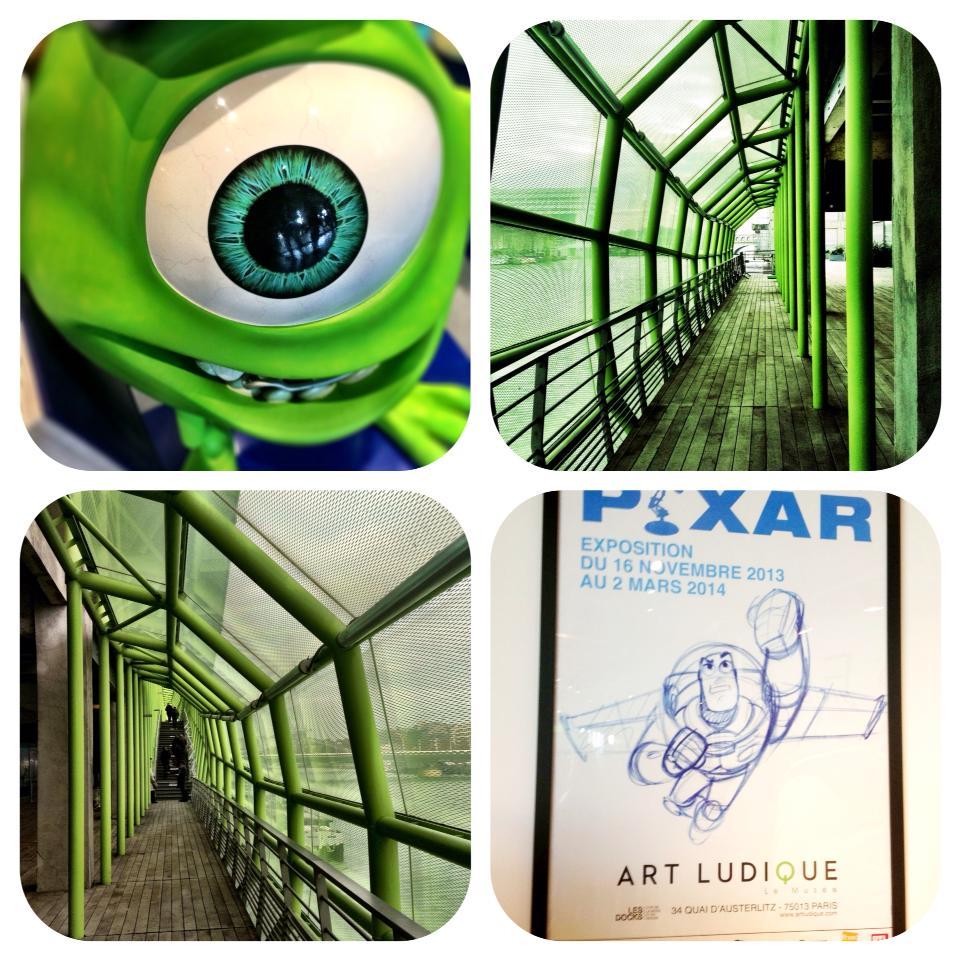 Exposition pixar sakarton for Salon pixar paris