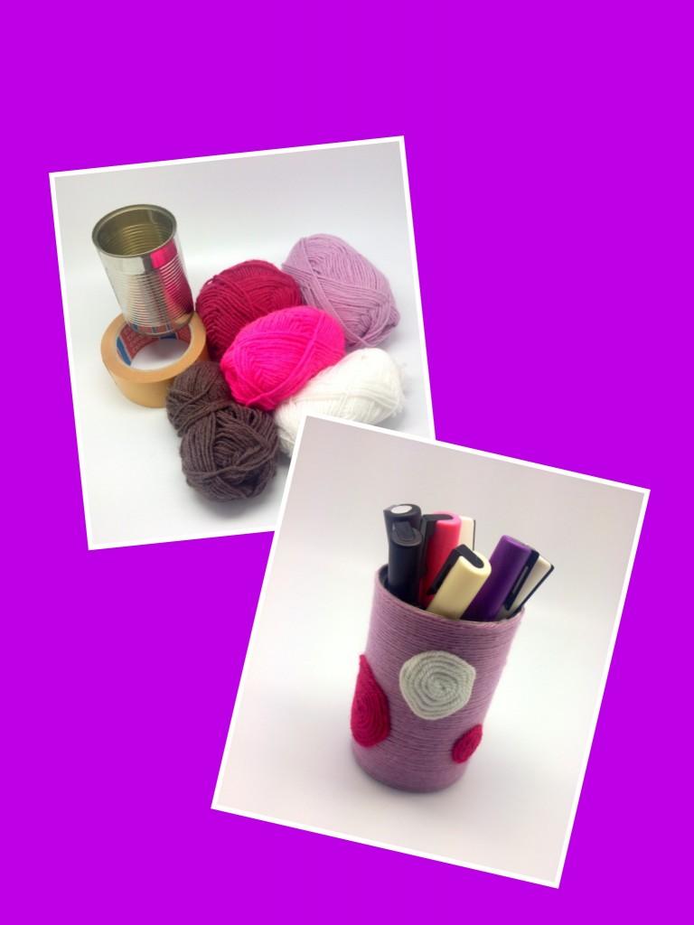 Recycler une boite de conserve en pot crayons sakarton - Recycler boite de conserve ...